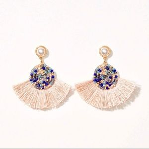 🍒3/$30 NWT Loft Fringe Seed Bead Earrings